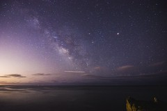 malibu galactic center (For The Nguyen!) Tags: malibu night astrophotography galactic center universe stars milky way milkyway sony alpha a77 wide angle tokina 11mm ocean waves dark sky billions santa monica los angeles california