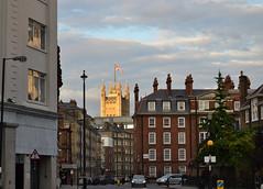 (IlPoliedrico) Tags: londra london england inghilterra unionjack housesofparliament view sunset westminster