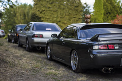 squad 2.0 (Michael Dees) Tags: cars nissan r32 bmw s13 s14 e30 euro jdm imports dirt nasty low