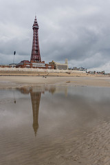 Blackpool tower (jan_baranovski) Tags: blackpool pier sea england seacost cost water wheel sony a6000 tower7