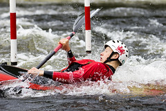 _7D27771 (Simon Wootton) Tags: sport kayaking grantully water slalom splash speed perth river rivertay scotland