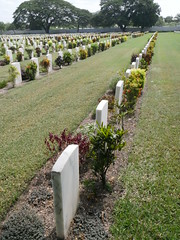 Autralia find this cemetary in Port Moresby as there are hundreds of Australians buried here!