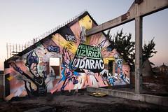 'Strikes back area' Artist : Rage (https://www.facebook.com/RageFreakS-431846283532923/?fref=ts) / Piros / Brada (Belgrade) (Sacha Lille) Tags: graffiti graff mural belgrade