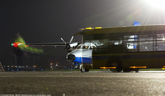 _DSC7136 (southspotterman1) Tags: l410 airplanes spotting unoo inomsk omsk airport     410  nightspotting