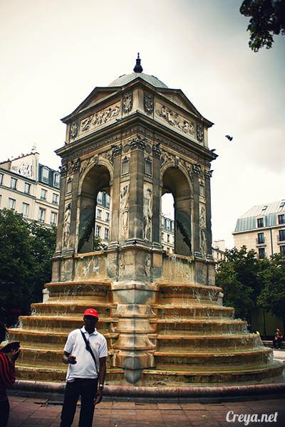 2016.10.02 ▐ 看我的歐行腿▐ 法國巴黎一日雙聖,在聖心堂與聖母院看見巴黎人的兩樣情 04