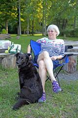 1282 (Jean Arf) Tags: trumansburg ny newyork summer 2016 cayuga lake joanne annie dog