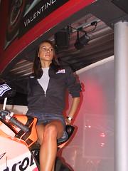 Promoter (themax2) Tags: upskirt milano hostess 2003 girl miniskirt model promoter eicma