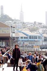 Pier 39 II (frankbehrens) Tags: california sanfrancisco kalifornien transamericapyramid coittower pier39