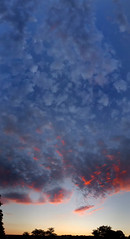 Fade Into Dreams (hpaich) Tags: panorama sunset sky skies cloud weather nj jersey newjersey wall horizon