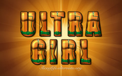 Ultra Girl (New Warriors) (blindsuperhero) Tags: marvel superheroes texteffect wallpaper background dccomics ultragirl newwarriors costume character