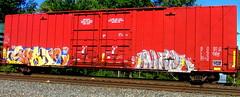 spade - (timetomakethepasta) Tags: spade ars tbk freight train graffiti boxcar crle sfe art