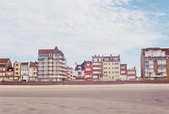 (Tori Taylor) Tags: braydunes france beach canon t50 film photography quiet spring kodak nord calais red colour houses seaside sand serene