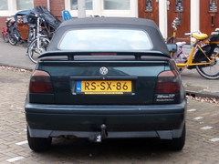 Volkswagen Golf 3 cabrio 1997 nr2387 (a.k.a. Ardy) Tags: rssx86 softtop spoiler