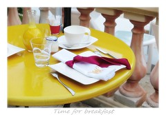 Time for breakfast (nathaliedunaigre) Tags: hotel saintevalrie juanlespins 4toiles luxe dcoration breakfast vaisselle petitdjeuner france ctedazur frenchriviera prsentation