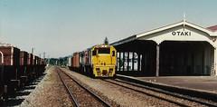 Otaki (andrewsurgenor) Tags: locomotive engine transport diesel nz newzealand train railway railroad narrowgauge rail nzr railfan