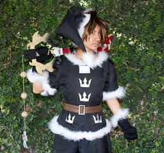 Christmastown Sora Cosplay (Trinity All-Stars) Tags: kingdomhearts kingdom hearts kingdomheartscosplay christmas christmastown christmastownsora sora soracosplay cosplay nbc animecalifornia2016 ac2016 anime california costume trinityallstars jermad14photography