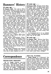 West Ham United vs Newcastle United - 1978 - Page 19 (The Sky Strikers) Tags: west ham united newcastle upton park football league division one hammer 15p official programme