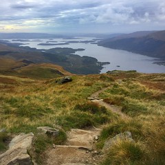 The path less travelled (barronr) Tags: scotland lochlomondthetrossachsnationalpark benlomond theptarmigan loch lomond