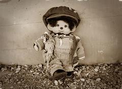 Sid The Kid (Monkey Culture) Tags: monchhichi kiki monchichi sekiguchi toy stuffedtoy toyart toyphotography