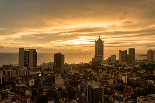 Colombo Sonnenuntergang
