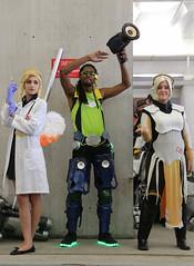 New York Comic Con 2016 - Mercy x2 & Lucio (Rich.S.) Tags: new york comic con nycc 2016 nyc convention cosplay overwatch blizzard video game mercy lucio