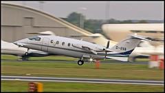 D-IIVA Piaggio P.180 Avanti c/n 1125  Airgo Flugservice GmbH & Co (EGLF) 02/10/2016 (Ken Lipscombe <> Photography) Tags: diiva piaggio p180 avanti cn 1125 airgo flugservice gmbh co eglf 02102016 farnboroughairporticaoeglfbizjetsaviationflyingtag