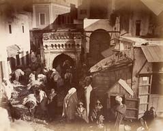 A Market in Tangier, 1880 (Benbouzid) Tags: market souk tinja tanja tanger tangier maroc morocco