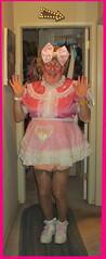 Surprise Emily! (emily_sheldon) Tags: sissymaid stockings