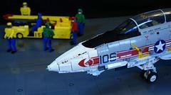 F-14A Tomcat Nose (crash_cramer) Tags: lego f14 f14a tomcat