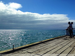 mar13 925 (raqib) Tags: blue sea sky beach mobile pier australia melbourne rc frankston iphone shadesofblue frankstonpier raqib raqibchowdhury