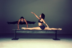 (MelindaShay.) Tags: girls ballet girl dance body contemporary stretch tattoos freeze form hip hop shape flexibility extend