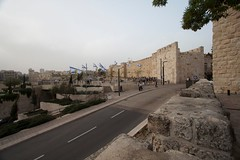 Jaffa Gate (charlie_kilo) Tags: old city israel gate walk palestine south jerusalem jaffa rampart