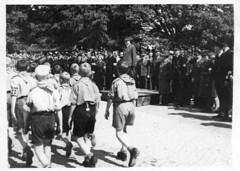 Borrestevnet, sommeren 1941. (Riksarkivet (National Archives of Norway)) Tags: ns worldwarii secondworldwar quisling krigen vidkunquisling andreverdenskrig okkupasjonstiden