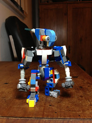 WIP Super-Poseable Modular Robot: The Little Guy (Alex Kelley) Tags: toy design robot lego action wip modular figure mecha mech moc uploaded:by=flickrmobile flickriosapp:filter=nofilter