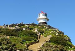 Historischer Leuchtturm am Kap der Guten Hoffnung - Sdafrika (2sternchen) Tags: lighthouse canon southafrica powershot capepoint sdafrika leuchtturm hs capeofgoodhope sx40 canonpowershotsx50hs