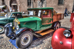 DSC_8692_3_4HDR (bornin78) Tags: old travel colors car truck nikon wheels transport camion civil transportation mantova historical 18200 hdr mantua photomatix d7000