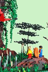 Secret Of Mana (Deviet) Tags: tree lego secret nintendo super swamp mana moc squaresoft secretofmana seiken of densetsu deviet seikendensetsu2