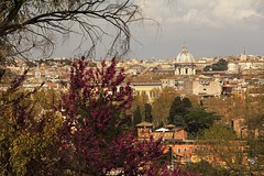 Grazie Roma! (bob_52) Tags: panorama roma botanico citt gianicolo orto cupole photographyforrecreation