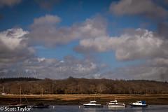 Boats and Sky (Scrufftie) Tags: uk england sky museum canon unitedkingdom hampshire beaulieu bucklershard countryhouse canonef24105mmf4lisusm canon5dmkii lightroom4