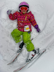 Snow Angel (r3m00r3) Tags: snow skiing mary powder mtseymour northvancouver 4years 63mm pentaxoptiow30 1320secatf66