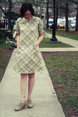 dem pockets (Daphne_Blue) Tags: amazing pattern dress sewing polyester madebyme oop builtbywendy simplicity3835 invisiblezipper bbw3835 patchpockets tiesleeve photosbybelle