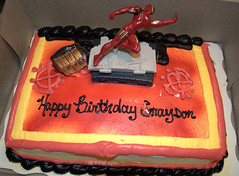 Grayson's Iron Man cake (*Melanie*) Tags: birthday grayson age2