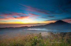 Mount Batur sunrise (Nathalie Stravers) Tags: bali mountain sunrise landscape lee filters batur songan kintamani toya nikond700 bungkah natstravers