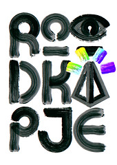 Roodkapje (Mihail Mihaylov) Tags: inspiration art colors ink poster logo grid typography design rotterdam play graphic god creative experiment identity type symbols typo typeface freelance logotype roodkapje globalism roffa mihata mihailmihaylov