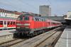 Basking in the Sunshine (Rhysj17) Tags: sunshine germany munich bavaria diesel zurich db deutschebahn 218 kempton diesellocomotive class218 munichhbf zurichhauptbahnhof 218489