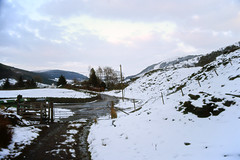 Snowy Cwm Penmachno (Saturated Imagery) Tags: snow film wales 35mm slidefilm e6 conwy canoneos300 cwmpenmachno kodakektachrome100g