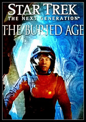 Star Trek - The Next Generation - The Buried Age (chicbee04) Tags: startrek contrast interesting textures frame captainpicard juxtaposition effect spacesuit thenextgeneration smoothandrough iwasframed burialcrypt imagepostprocessing theburiedage phototoaster studenttransformedtocaptain