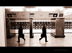 but never stand still  (greenie11*) Tags: man movement prague metro praha human hana republiky namesti greenie11
