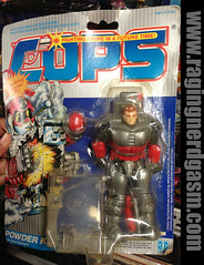 COPS Action Carded Figures Powder Keg by Hasbro (Raging Nerdgasm) Tags: by tom cops action powder keg figures hasbro raging carded rng nerdgasm khayos
