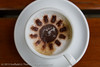 Capuccino (Gruffydd Thomas) Tags: sun flower cup coffee shop cafe pattern break drink chocolate beverage sugar frothy caffeine cappuccino refreshing milky capucino saucer capuccino refreshment refresh
